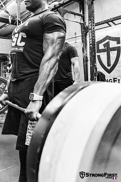 Triceps brachial et le Soulevé de terre