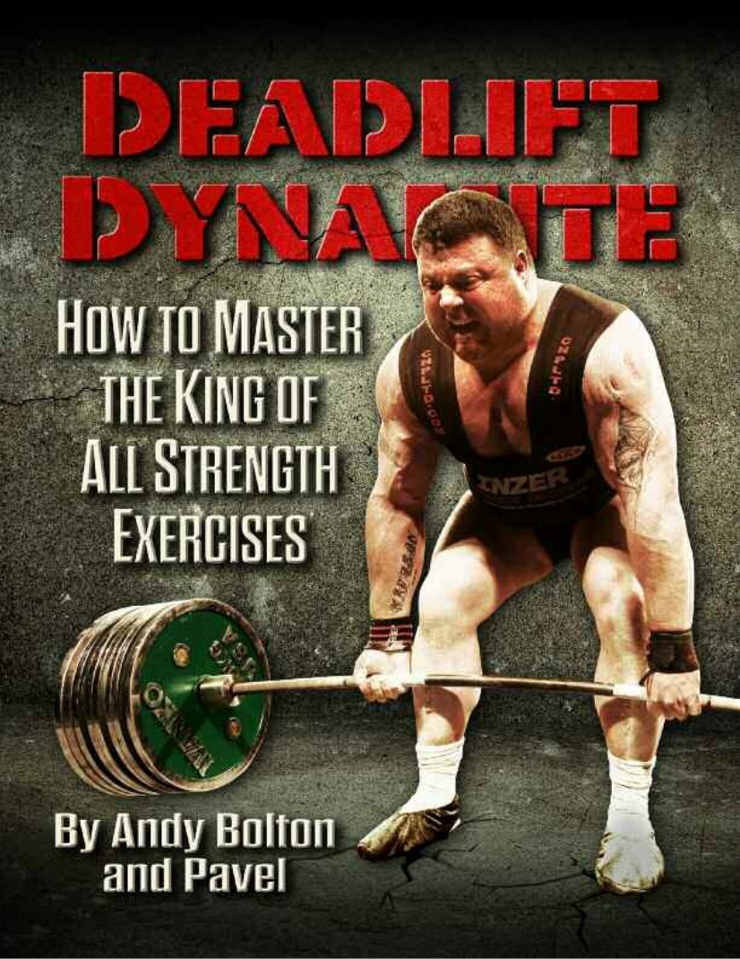 Swing hard style et Deadlift minimaliste : Andy Bolton