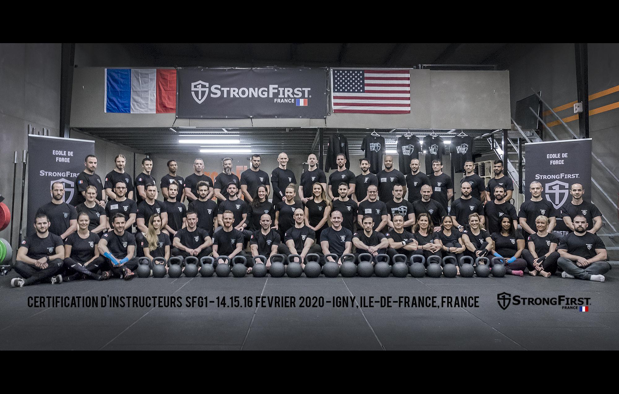 Certification SFG 1 - France, 2020