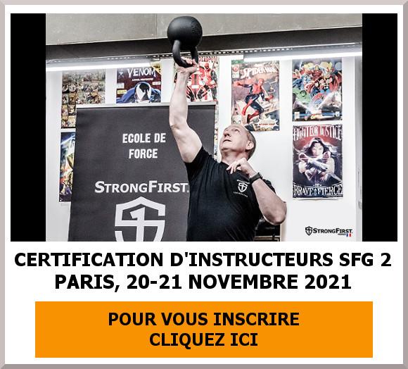 SFG 2 - France, 2021 - Planning