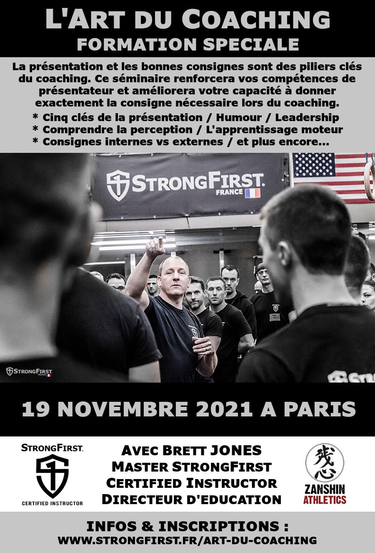 L'Art du Coaching avec Brett Jones
